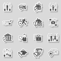 Insurance Sticker Set