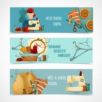 Set di banner per cucire