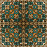 Ethnic seamless pattern background