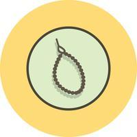 Icône de perle de vecteur