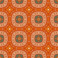 Colorful tribal ethnic seamless pattern. vector