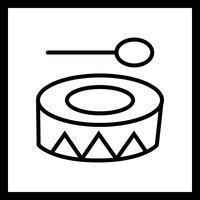 Vector festival pictogram