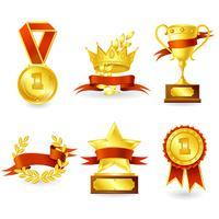 Emblema de troféu e prêmio