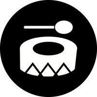 Icono de festival de vector