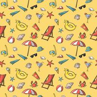 Seamless summer vacation travel pattern