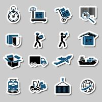 Transportation Services Stickers Collection