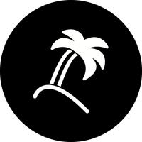 Vector Palm Tree Icon