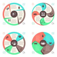 Meet people online infographic pictograms set