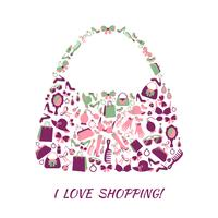 Shopping bag accessori donna