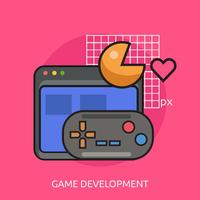 Game Development Konzeptionelle Darstellung
