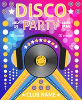 disco feestaffiche