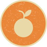 Icona arancione vettoriale