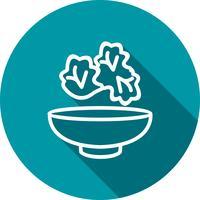 Vektor-Salat-Symbol