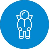 Space Suit Vector Icon