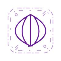 Vector Garlic Icon