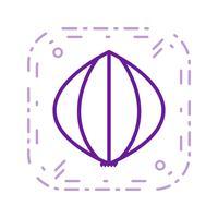 Icona dell'aglio di vettore