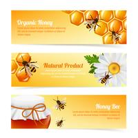 Honey bee banners