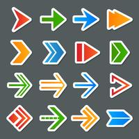 Arrow Symbols Icons Set