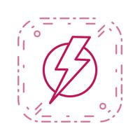 Electric Shock Vector Icon