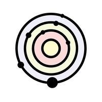 Solar System Vector Icon