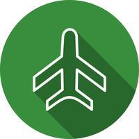 Icône d'avion vecteur