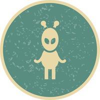 Icono de Vector de Alien