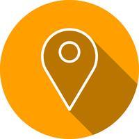 Ícone de localização vetorial