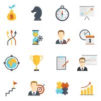Business Strategy Planning Icons