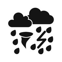 Bad Weather Vector Icon