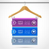 Clothes hanger sale infographics