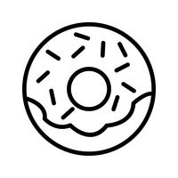 Vector Doughnut Icon