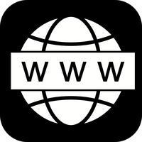 Icône de recherche Web Vector