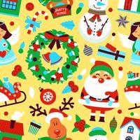 Padrão sem emenda de Natal