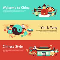 Kina banner set
