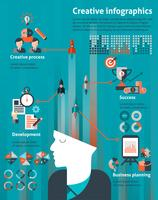 Conjunto Infográfico Criativo