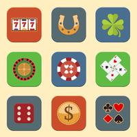 Casino Design Icons