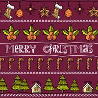 Schizzo cartolina di Natale