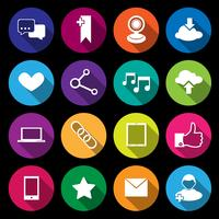 Icônes de médias sociaux
