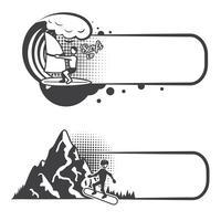 Lesezeichen für extreme Sportarten