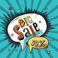 Sale speech bubble