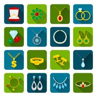 Schmuck-Icon-Set