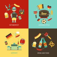 Deutschland reisen flach