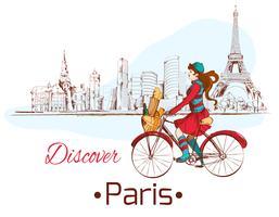 Discover Paris poster