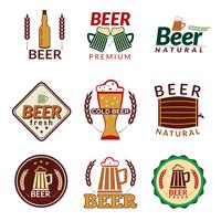 Beer colored emblems