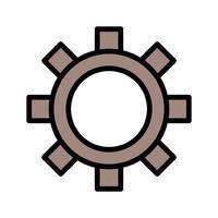 Ikon för vektorinställningar