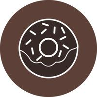 Icona di vettore ciambella