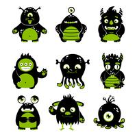 Cute monsters set