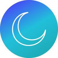 New Moon Vector Icon