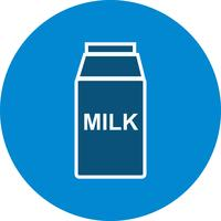 Vector melk pictogram