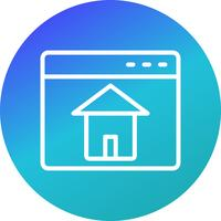 Vector Homepage Icon